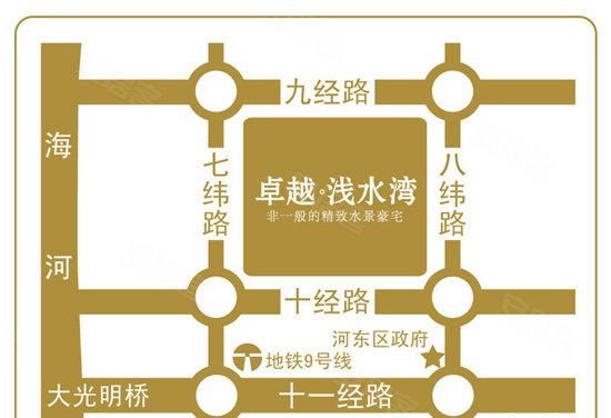 天津河东卓越浅水湾_天津卓越浅水湾黄金地段的现房好楼盘–天津