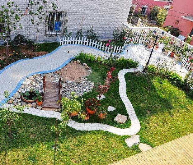 小院设计图图片 一楼小院设计图片欣赏,农村小院一层平房设