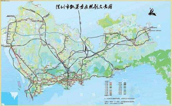 地铁二号线12月28日开通 深圳多条在建地铁线路汇总图片
