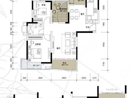 室2厅1卫,桐梓坡路408号(麓谷桐梓坡西路中联