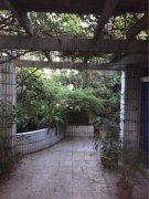 紧邻步行街,带屋顶花园,还有鱼池,环境清爽,
