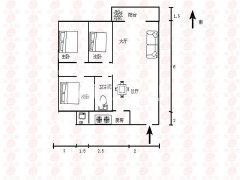 碧桂园温馨三房两厅,家私家电齐全,装修保养干净,拎包入住!