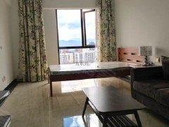 建设路协信天地单身公寓全新精装带家具采阳好视野开阔拎包入