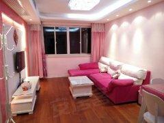精装两房,温馨舒适,粉色系装修,诚心出租,拎包入住,看房随时