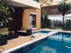 此套带私家泳池,独栋大花园,环境优美、设施齐服务好