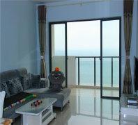 三亚湾一线海景3房、长短租均可、拎包入住。出门就是大海