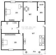 铜山万达汉府雅园 2200元 2室2厅1卫 精装修,家电家具