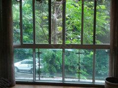 诚心出租对中庭带大阳台精装两室1500一个月