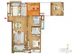 不是出租房!期房!卖新房!中海开发商!115平米95.9万