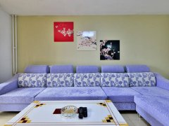 整租,世景苑小区,1室1厅1卫,55平米,押一付一