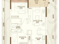万城国际花园新精装2房出租,全新家具。适合小家庭居住。