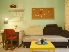 整租,新天地小区,1室1厅1卫,52平米