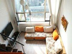 高新园区.菁英汇.两室一厅.地铁.越层.精装修.