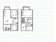 源诚房产精装修复室结构出租看房方便