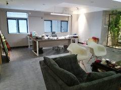 利和国际公寓 电梯口 写字楼128平方 带办公家具