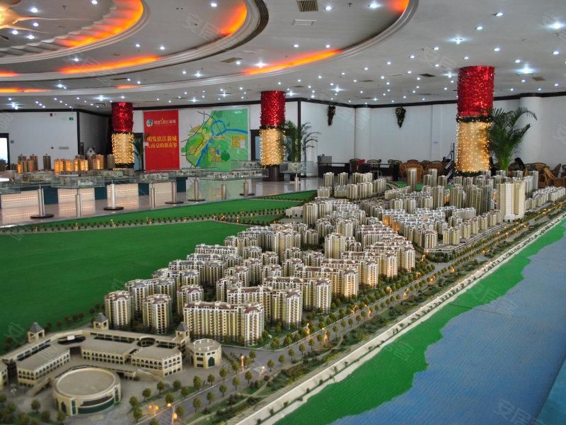 规划图,明发滨江新城图片第2张 高清图片