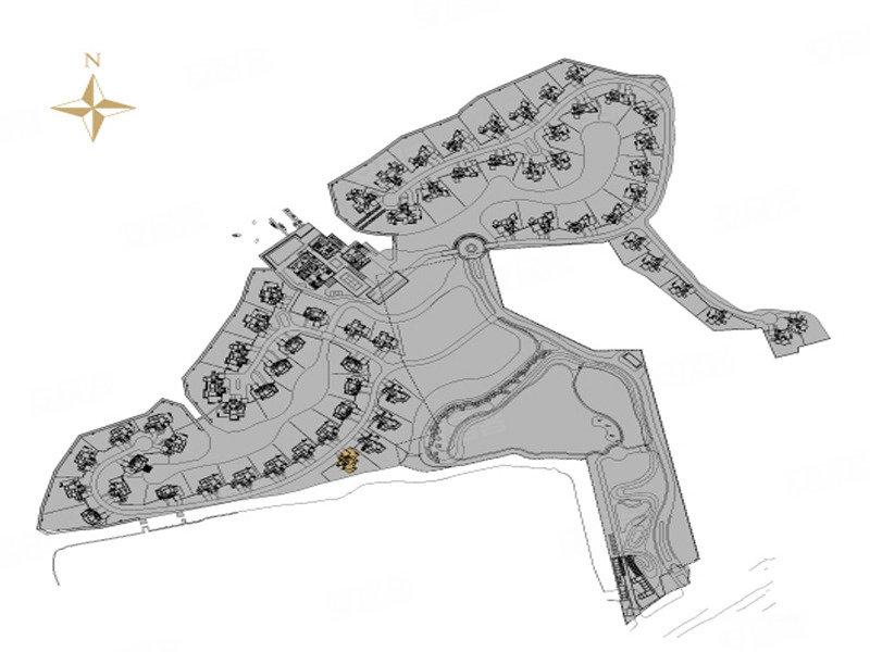 湖庭规划图 高清图片