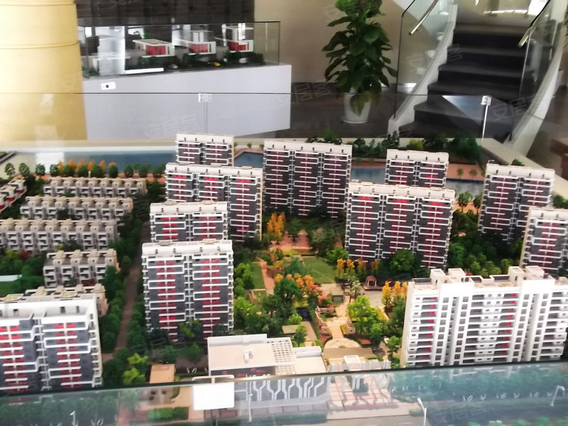 临港蓝色城邦规划图 高清图片