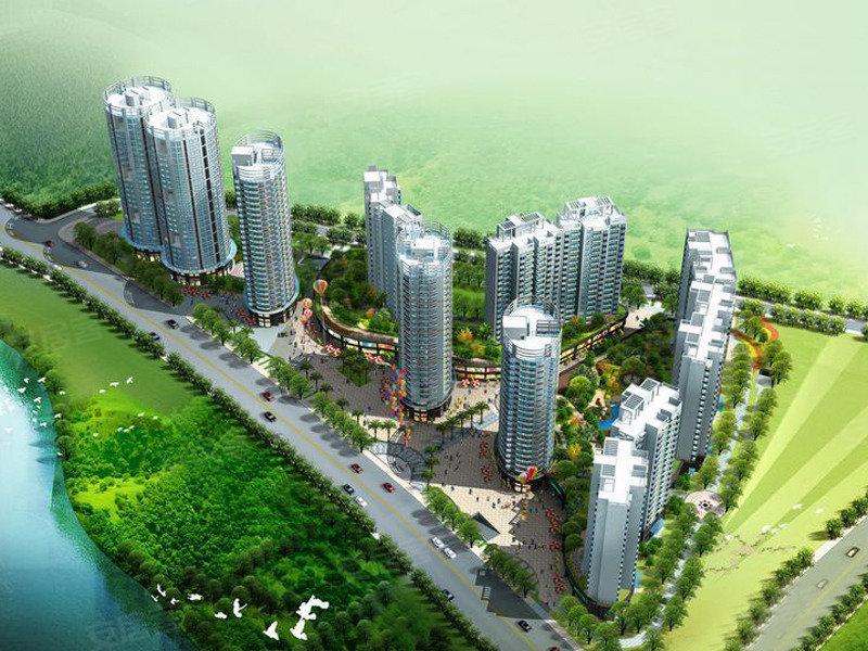湖韵佳苑规划图 高清图片