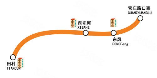 北部地铁路网密集 规划线周新房分布零散