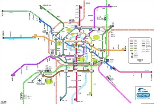 成都地铁线路图(图片来源于网络)-成都楼市龙门阵17期 你知道吗 地图片