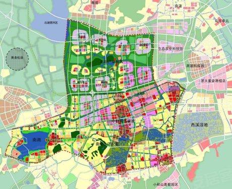 △杭州未来科技城规划图