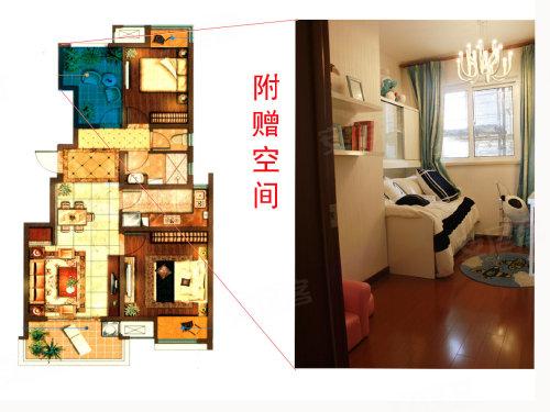 90平精装2房变3房 象屿都城样板间实拍高清图片