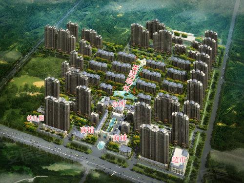 中国中铁诺德名城沙盘效果图-买房先要看规划 安居客教你如何看沙盘