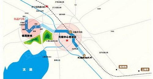 地铁三号线示意图-地铁3号线推动 焊管之乡 经济发展 钱桥2盘剖析图片
