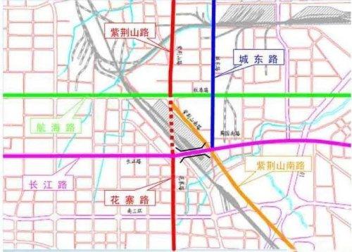 紫荆山南路南延_紫荆山路南延规划图