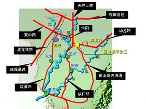 华阳板块崛起 抢先入住城南低价房首选地图片