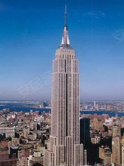 国纽约曼哈顿的克莱斯勒大楼与帝国大厦-鸟叔有江南style 楼盘多得是